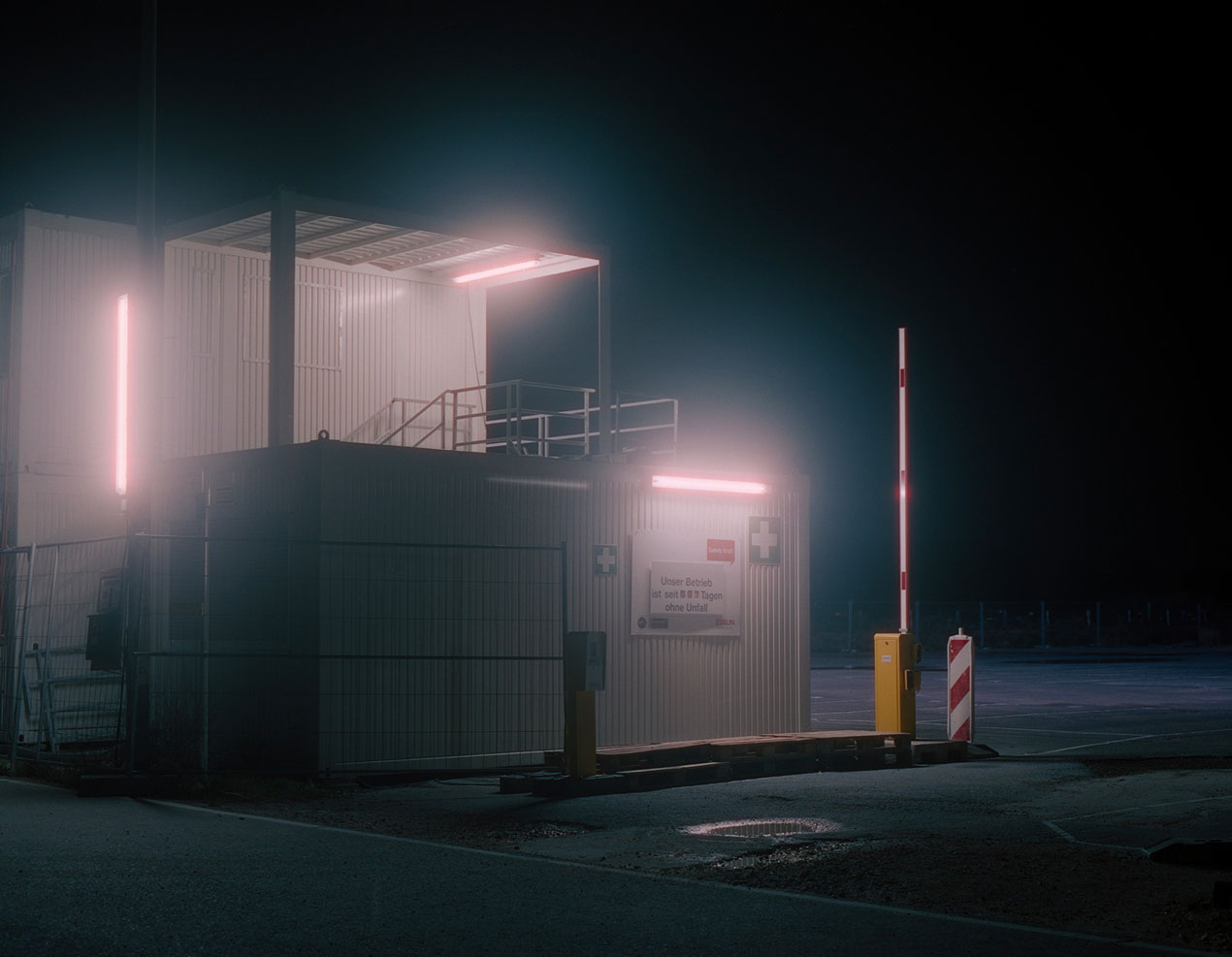 "Untitled (from the series ""Night Moves""), 2020, analogue colour photography"